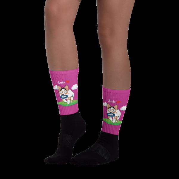 Haustier Cartoon Socken